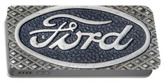 Old Ford Symbol Portable Battery Charger