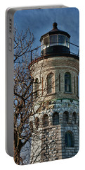 Portable Battery Charger featuring the photograph Old Fort Niagara Lighthouse 4484 by Guy Whiteley