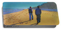 Old Friends Long Shadows Portable Battery Charger