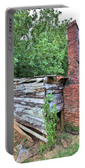 Portable Battery Charger featuring the photograph Old Georgia Smokehouse by Gordon Elwell