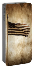 Portable Battery Charger featuring the photograph Old Glory by Aaron Berg