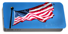 Old Glory - American Flag By Sharon Cummings Portable Battery Charger