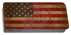 Old Glory And The Marine Corps Portable Battery Charger