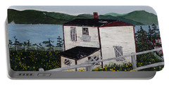 Old House - If Walls Could Talk Portable Battery Charger by Barbara Griffin