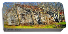 Old House Portable Battery Charger by Savannah Gibbs