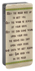 Old Irish Blessing Portable Battery Charger