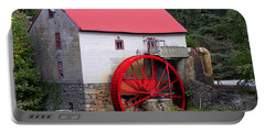 Portable Battery Charger featuring the photograph Old Mill Of Guilford by Sandi OReilly