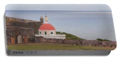 Old San Juan Portable Battery Charger by Daniel Sheldon
