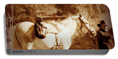 Portable Battery Charger featuring the photograph Old Spain by Clare Bevan