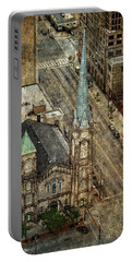 Old Stone Church Portable Battery Charger by Dale Kincaid