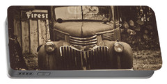 Portable Battery Charger featuring the photograph Old Times by Alana Ranney