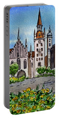 Old Town Hall Munich Germany Portable Battery Charger