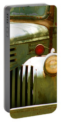 Old Truck Abstract Portable Battery Charger