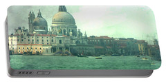 Portable Battery Charger featuring the photograph Old Venice by Brian Reaves