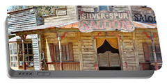 Old Western Saloon Portable Battery Charger