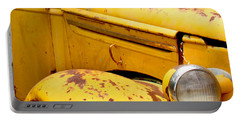 Old Yellow Truck Portable Battery Charger