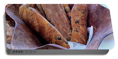 Olive Bread Portable Battery Charger by Venetia Featherstone-Witty