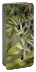 Olive Tree Portable Battery Charger by Go Van Kampen