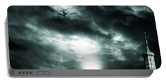 Ominous Skies Portable Battery Charger
