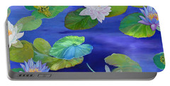 On Big Fresh Pond Portable Battery Charger by Kimberly McSparran
