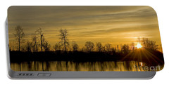 On Golden Pond Portable Battery Charger by Nick  Boren