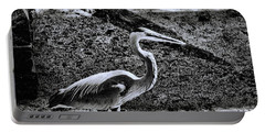 Portable Battery Charger featuring the photograph On Patrol by Robert McCubbin
