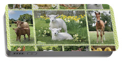 On The Farm Multipic Portable Battery Charger