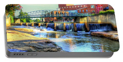 On The Reedy River In Greenville Portable Battery Charger