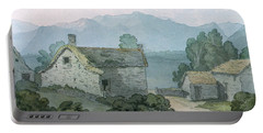 On Ullswater, Cumberland, 1791 Wc On Paper Portable Battery Charger