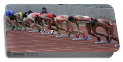 On Your Marks Portable Battery Charger
