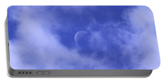 Portable Battery Charger featuring the photograph Once In A Blue Moon by Judy Whitton