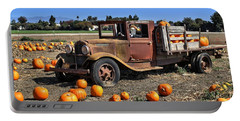 Portable Battery Charger featuring the photograph One More Pumpkin by Michael Gordon