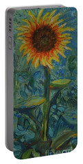 One Sunflower - Sold Portable Battery Charger
