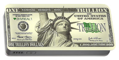 One Trillion Dollar Bill Portable Battery Charger