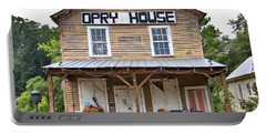 Portable Battery Charger featuring the photograph Opry House - Square by Gordon Elwell