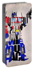 Optimus Prime Portable Battery Charger