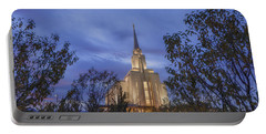 Oquirrh Mountain Temple II Portable Battery Charger