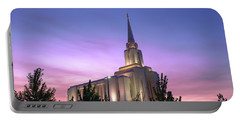Oquirrh Mountain Temple Iv Portable Battery Charger