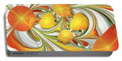 Orange Attitude Portable Battery Charger