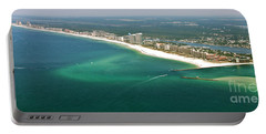 Looking N W Across Perdio Pass To Gulf Shores Portable Battery Charger