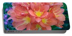 Orange Bouquet Portable Battery Charger