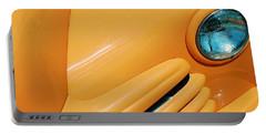 Orange Car Portable Battery Charger