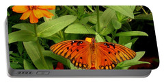 Orange Creatures Portable Battery Charger