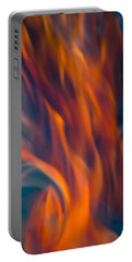 Orange Fire Portable Battery Charger