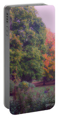 Orange Leaves - Monet Portable Battery Charger