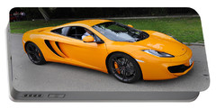 Orange Mclaren Mp4-12c Portable Battery Charger