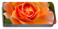 Orange Rose Lillian Portable Battery Charger