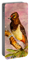 Orange-spotted Bulbul Portable Battery Charger