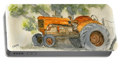 Orange Tractor Portable Battery Charger