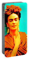 Orange You Glad It Is Frida Portable Battery Charger